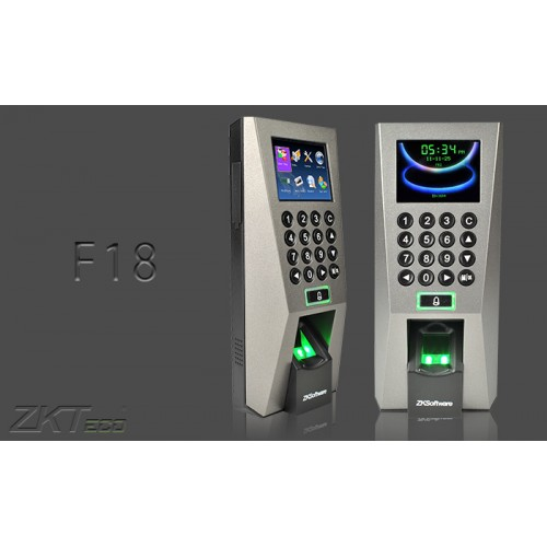 ZKTeco F18 Biometric Finger and RFID Card Attendance Systems Sylhet
